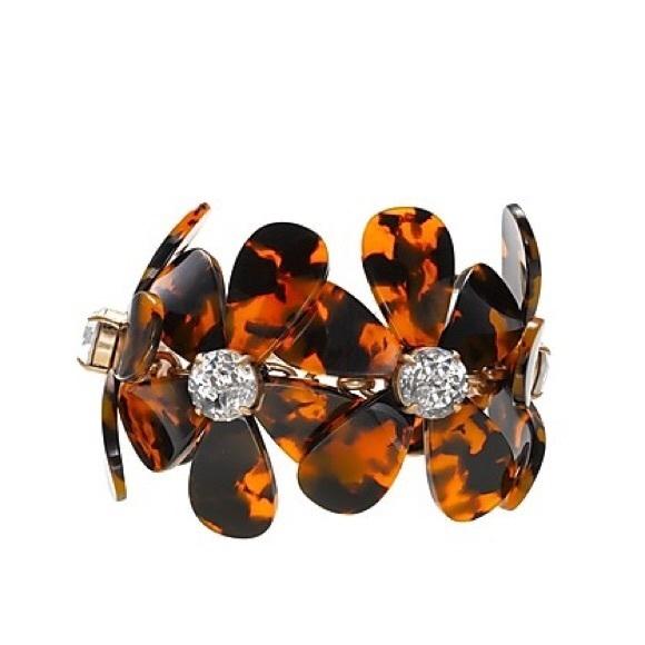 ☀️3 FOR $15☀️ JCrew Floral Statement Bracelet